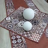 Úžitkový textil - TERRA (1) - obrus štvorec - 10773141_