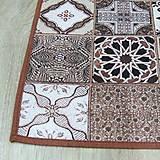 Úžitkový textil - TERRA (2) - stredový obrus 175x46 - 10775634_