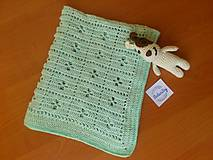 Úžitkový textil - Deka - 10773986_