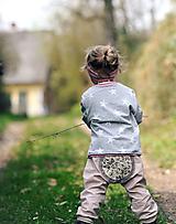 Detské oblečenie - Puntíčky a motýli - 10776349_