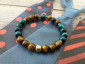 Náramky - Pánsky náramok Style P020 - 10773423_