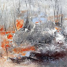 Obrazy - Príbeh lesa, 70x70 - 10773797_