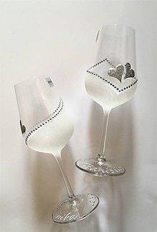 Drobnosti - Svadobné poháre - 10773370_