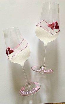 Drobnosti - Svadobné poháre - 10774297_