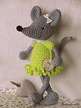 Hračky - Myšička ♥ - 10777946_