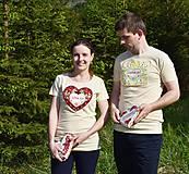 Tričká - Veselé dámske tričko - 10778114_