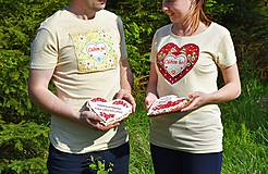 Tričká - Veselé dámske tričko - 10778117_
