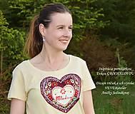 Tričká - Veselé dámske tričko - 10778118_