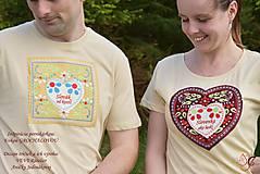 Tričká - Veselé dámske tričko - 10778126_