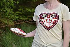 Tričká - Veselé dámske tričko - 10778130_