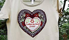 Tričká - Veselé dámske tričko - 10778140_
