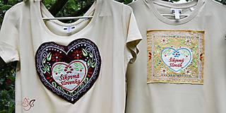 Tričká - Veselé dámske tričko - 10778145_