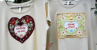 Tričká - Veselé dámske tričko - 10778148_