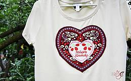 Tričká - Veselé dámske tričko - 10778149_