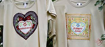 Tričká - Veselé dámske tričko - 10778187_