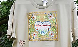 Tričká - Veselé pánske tričko - 10778233_