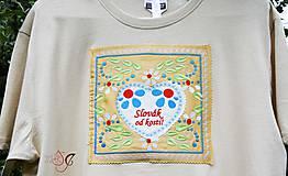 Tričká - Veselé pánske tričko - 10778240_
