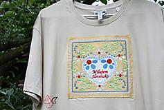 Tričká - Veselé pánske tričko - 10778241_