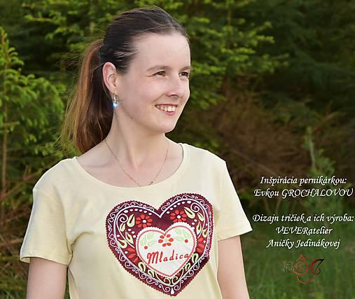 Veselé dámske tričko