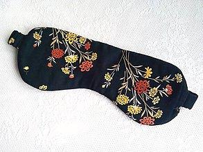 Iné doplnky - Romantická maska na spanie - 10778265_