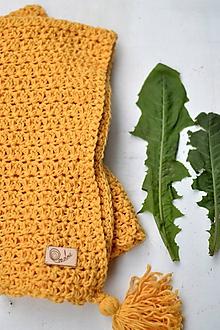 Textil - Detská deka BAVLNA: púpavová - 10777233_