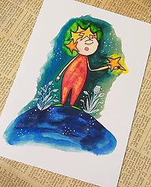 Kresby - Ako Malý princ - 10776773_