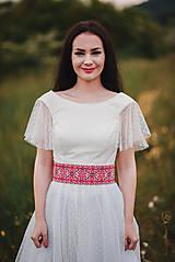 Opasky - Opasok Folkový krížik - 10778968_