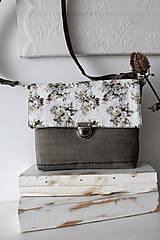 Kabelky - Mini kabelka vintage flowers - 10779187_
