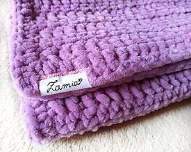 Textil - Deka do kočíka (Ružová) - 10778038_