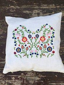 Úžitkový textil - Vankúšik ľúbezný - 10779601_
