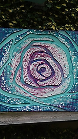 Obrazy - Ruža z diaľky nekonečna - 10777866_