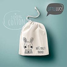 Iné tašky - Vrecko LittleLucy - zajačik II - 10778157_