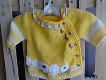 Detské oblečenie - Svetřík... - 10778728_