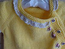 Detské oblečenie - Svetřík... - 10778748_
