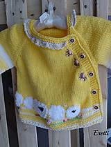 Detské oblečenie - Svetřík... - 10778753_