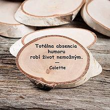 Magnetky - Magnetka - citát - Totálna absencia humoru - 10779711_