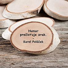 Magnetky - Magnetka - citát - Humor prečisťuje - 10779714_