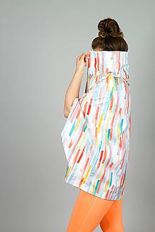 Kabáty - Bunda letná, pastelky (XS/S - Pestrofarebná) - 10779517_