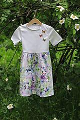Detské oblečenie - Dievčenské šaty MAMA A DCÉRA - LET´S CELEBRATE - 10779527_