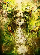 Obrazy - Obraz lesnej víly - 10778178_