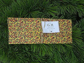 Úžitkový textil - voskovy obrusok 20x20 - 10778679_