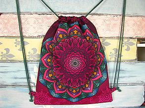 Batohy - Ruksak, batůžek, vak - Magická mandala - 10778472_