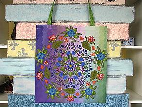 Nákupné tašky - Taška pro slečnu vyrovnanou - vílí - 10778503_
