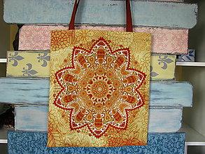 Nákupné tašky - Taška pro slečnu vyrovnanou - pouštní - 10778510_