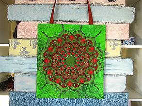 Nákupné tašky - Taška pro slečnu vyrovnanou - jedovatá - 10778512_