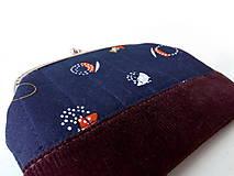 Peňaženky - Peňaženka XL Minimalistická geometria - 10777817_