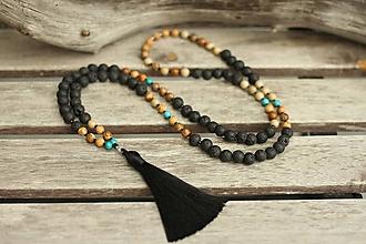 Šperky - Pánsky Japa Mala náhrdelník - 10777528_