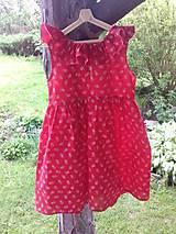 Detské oblečenie - Dievčenské folkové šatočky - 10778637_