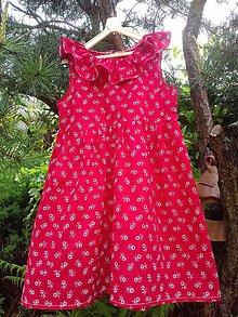 Detské oblečenie - Dievčenské folkové šatočky - 10778635_