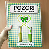 Papiernictvo - Pozor! Maturant z chémie - zakladač - 10779423_